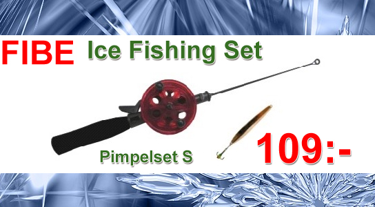 Fibe ice Fishing Set