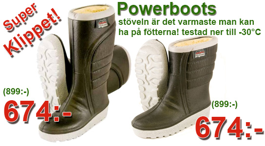 Powerboots super klippet