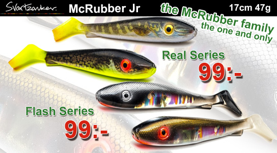 Svartzonker McRubber Jr Real & Flash Series