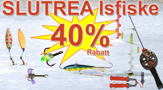 Slutrea Isfiske 40%