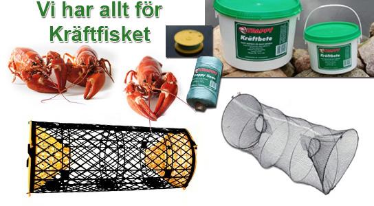Allt till kräftfisket