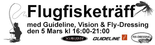 Flugfisketräff med Guideline, Vision & Fly-Dressing