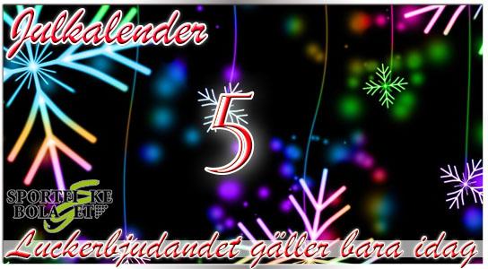 Julkalender lucka 5
